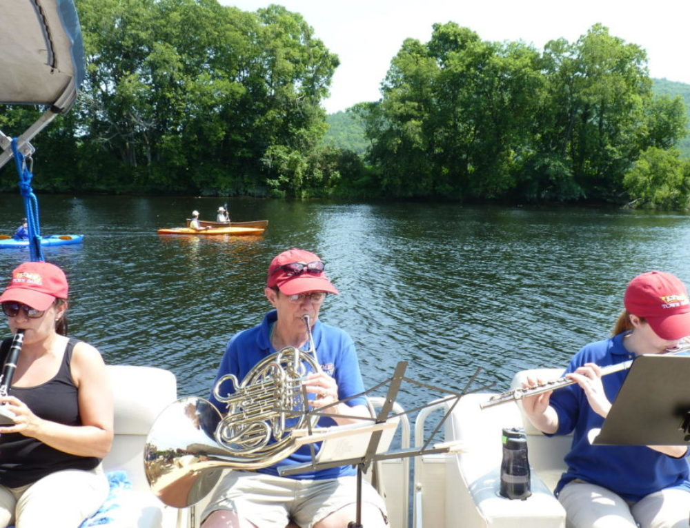 Lyme Town Band Helps Celebrate the Connecticut River