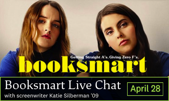 Booksmart Live chat with screenwriter