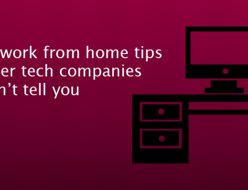 Working at Home Tips