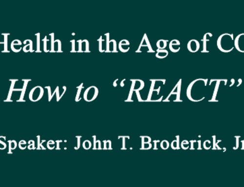 "Mental Health in the Age of COVID-19 – How to ""REACT"""